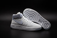 Кроссовки Nike Air Force 1 Mid Flyknit 2016 White (36-44), фото 1