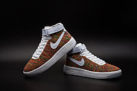 Кроссовки Nike Air Force 1 Mid Flyknit 2016 Multicolor (36-44), фото 4