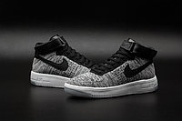 Кроссовки Nike Air Force 1 Mid Flyknit 2016 gray (40-44), фото 3