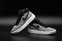 Кроссовки Nike Air Force 1 Mid Flyknit 2016 gray (40-44), фото 4