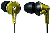 Наушники Panasonic RP-HJE190E-N Canal type, Ergo fit design, 10mm Deep bass dinamic, 200mW, 6Hz - 24kHz, cord 1.2m, 3 pairs of ear pads ( S/M/L) Цвет: