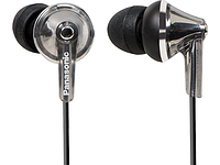 Наушники Panasonic RP-HJE190E-S Canal type, Ergo fit design, 10mm Deep bass dinamic, 200mW, 6Hz - 24kHz, cord 1.2m, 3 pairs of ear pads ( S/M/L) Цвет: