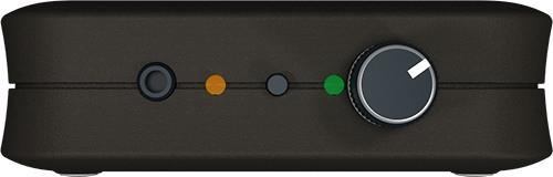 """На передней боковой панели   подавителя """"BugHunter DAudio bda-2 Voices""""  сосредоточены все элементы управления устройством, в том числе кнопка включения """"ТУРБО режима"""", разъем для подключения внешних колонок и регулятор громкости акустической речеподобной помехи (нажмите для увеличения)"""
