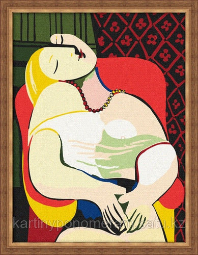 """Картины по номерам  - Алматы,   """"Мария Тереза. Пабло Пикассо"""""""