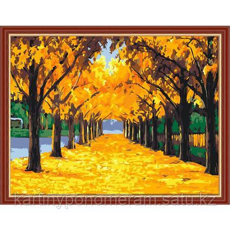 "Картина по номерам ""Осень 40х50"""
