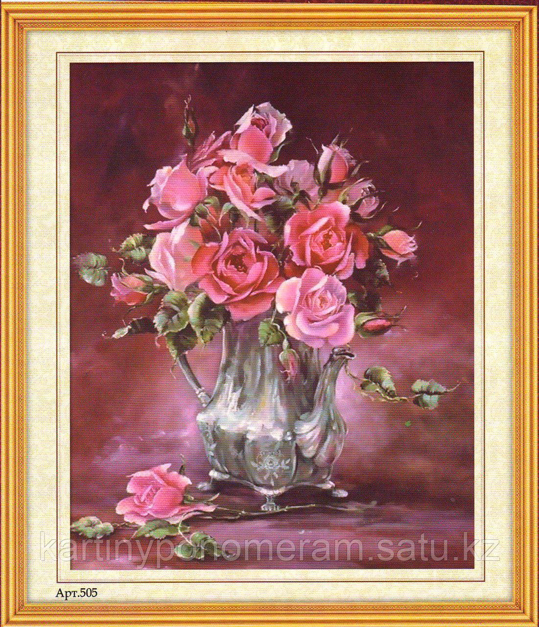 """Набор для вышивания бисером """"Розы"""" арт.205"""