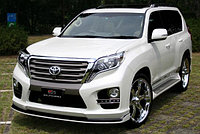 Обвес Elford type 2 на Land cruiser prado 150 рестайлинг