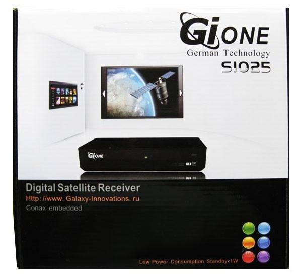 Cпутниковый ресивер Gione s1025