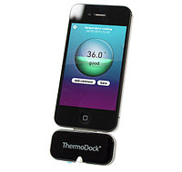 Система для измерения температуры тела, Medisana Apple ThermoDock