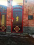 Ворота металлические на заказ, фото 2