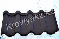 Металлочерепица  Андалузия 8017 (шоколад)