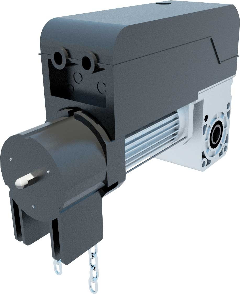Привод промышленных ворот PEGASO BCJA 380 V  с блоком LEO B CBB (до 45 кв.м. стандартного подъема ворот)