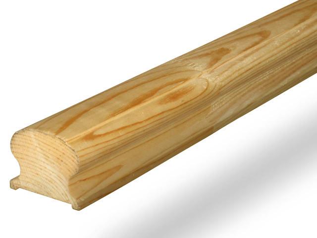 Поручень деревянный 64х40х3000
