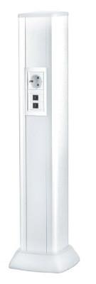 DKC 09592 Колонна алюминиевая 0,71 м, цвет белый