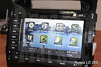 Автомагнитола для автомобиля Toyota Land Cruiser 200, фото 1