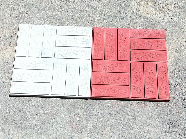 """Тротуарная плитка 3 см """"Паркет"""""""