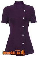 Форменная фиолетовая блузка, фото 1