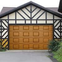 Ворота гаражные секционные RSD01 BIW