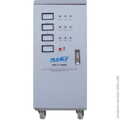 Стабилизатор напряжения RUCELF трехфазный электромеханический SDV-3-30000