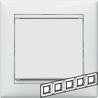 Legrand Valena Белый Рамка 5-ая гориз  (774455)