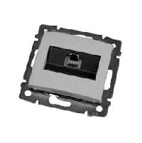 Legrand Valena Белый Розетка  комп (RJ45) 1-ая 5 кат ISDN 300MHz 8 конт ( 774441)