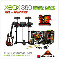 Guitar Hero Warriors of Rock Band Bundle (Xbox 360)