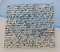 Штамп для скрапбукинга: Рукописный шрифт