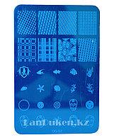 Стемпинг для ногтей, пластины для дизайна ногтей QQ-02