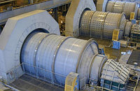 Шаровая мельница производительностью в 5 т/ч для добычи золота, угля из Китая