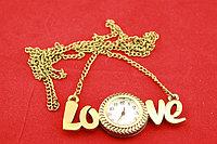 """Часы-кулон """"Любовь"""""""