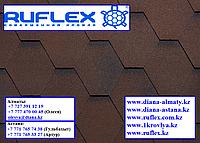 Гибкая черепица RUFLEX MINT Sota (Коричневый), минерал-битум, Гарантия 15 лет!