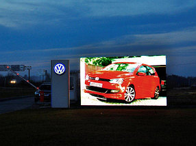 Наружный полноцветный светодиодный экран P10, фото 2