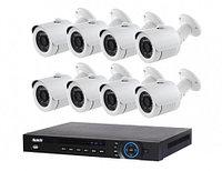 AHD готовый комлект видеонаблюдения на 8 уличных камер