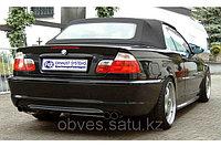 Спортивная выхлопная система FOX на BMW 3 E46 (СЕДАН/КУПЕ)