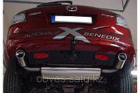 Спортивная выхлопная система FOX на Mazda CX7