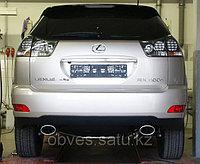 Спортивная выхлопная система FOX на Lexus RX (2003-08)