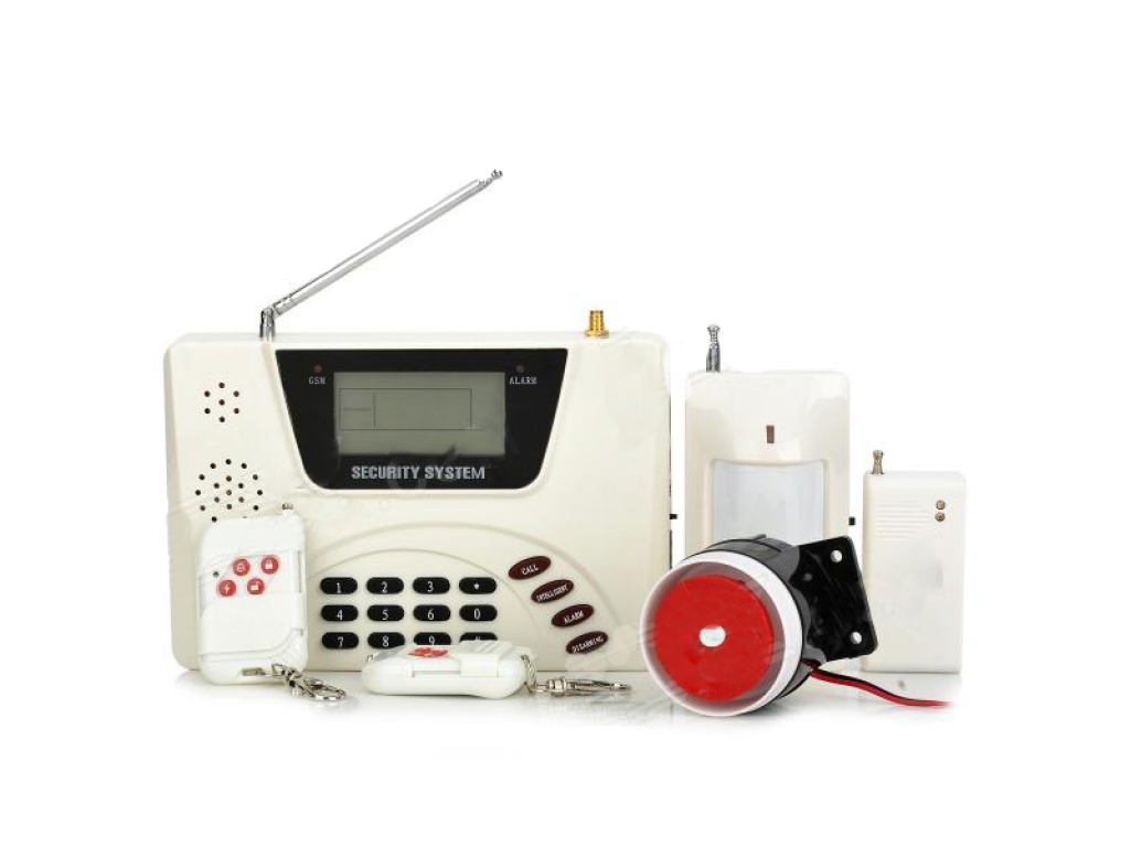 Интелектуальная охранная GSM сигнализация