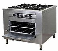 Плита газовая 4-х конфорочная с духовкой