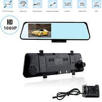 Зеркало видеорегистратор Rearview mirror car recorder, фото 1