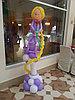 Оригинальные фигуры из шаров на детский праздник
