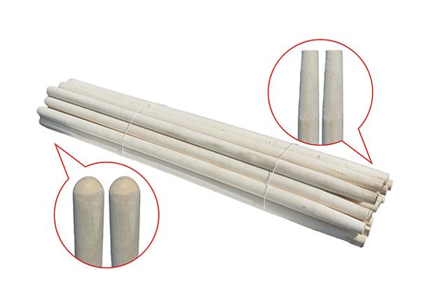 Черенок березовый для лопат 1,2 м D=40мм (Высший сорт)