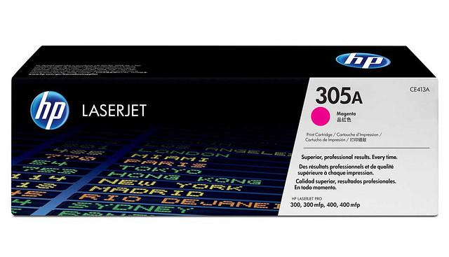 Заправка картриджей HP 410X,411A,412A,413A для  Pro 300/400