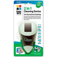 Чистящий набор COLORWAY CW-4821 Cleaning set 2 in 1, for dry and wet cleaning of CD/DVD disks, TFT/LCD screens, TVs