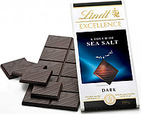 Шоколад Lindt Excellence Dark Sea Salt 100г.