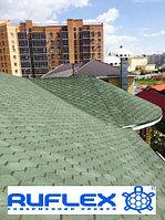 Гибкая черепица RUFLEX Sota (Зеленый базелик), SBS (СБС) модифицированная т87774700045, фото 1