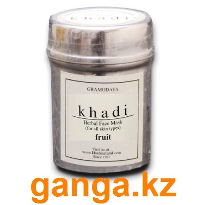 "Натуральная маска для лица ""Фруктовая"" (Herbal face mask Fruit KHADI), 50 г."