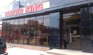 "Ресторан ""Burger King"" Караганда-Тонировка окон и витражей 7"