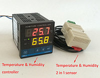Термо\влажность AL3010F 220в\5а\0град-99град\0-99% RH\шаг-1град,-5% RH,для инкубаторов