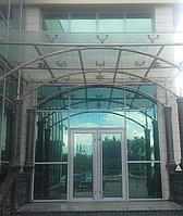 Навесы из нержавеющей стали со стеклом, фото 1