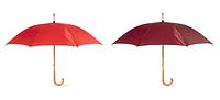 Зонт с деревянной тростью под нанесение логотипа